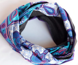 African Jersey Cowl Scarf