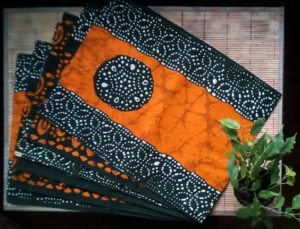 African Wax Print Placemats